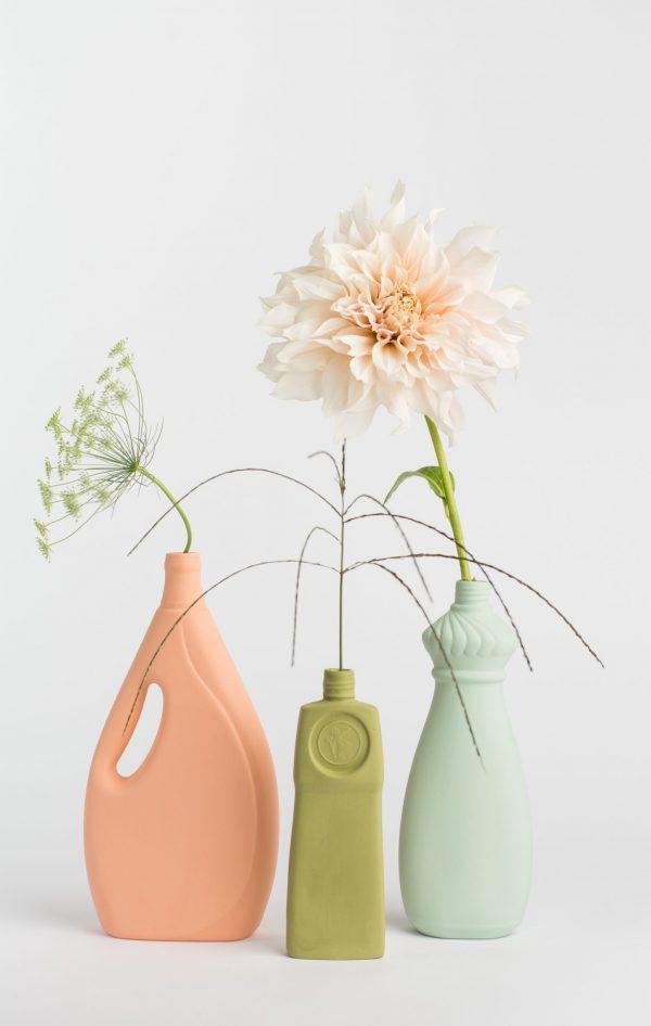 group photo three porcelain vases